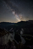 Milky Way over Rhine Valley